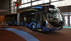 The Crealis Neo BHNS vehicle built by Irisbus and sold to Dunkirk.