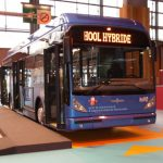 The Van Hool A330 hybrid bus for Beauvais.