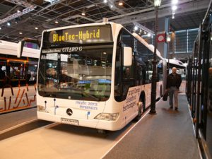 Mercedes-Benz now has its hybrid Citaro in production.