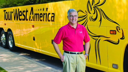 Busride Honors Peter Shelbo Tour West America At Travel Exchange Busride
