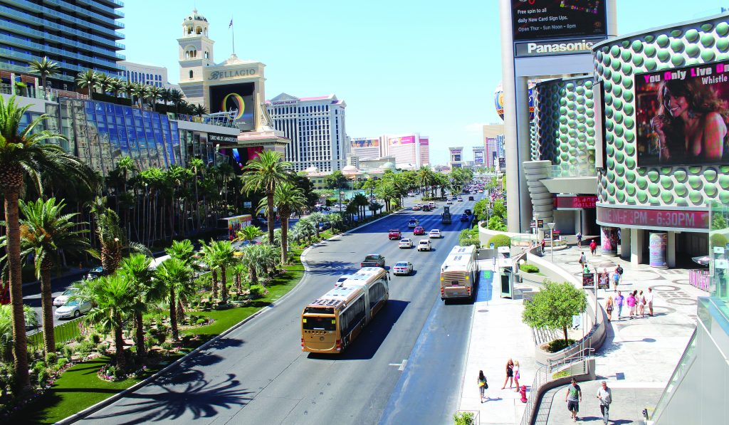 Veolia Transportation operates the Metropolitan Area Express (MAX) Bus Rapid Transit for the Regional Transportation Commission of Southern Nevada, which currently runs between the Downtown Transportation Center and North Las Vegas.