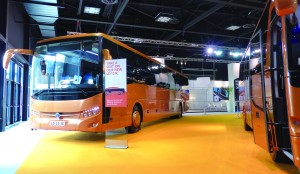 The new Temsa LD13IC, a low deck 13-meter intercity bus.