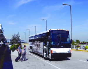 MassDOT chose Motor Coach Industries to deliver the commuter coaches for BusPlus+.
