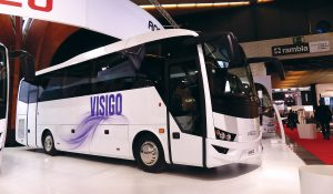 The new Visigo is the largest coach by Isuzu built so far.