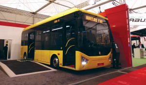 Karsan will put the CXL midibus into production in the second quarter.