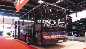 The world premiere of the Setra S 415 UL Business, made in Turkey.