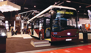 Solaris has built a few full-size electric buses.