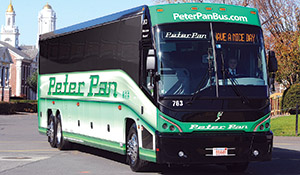 Peter Pan was among the bus companies expanding service in 2013.