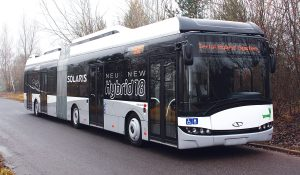Solaris uses Cummins engines in its hybrid buses.