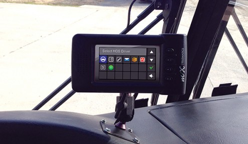 MiX's driver safety solution comes with an onboard computer and optional in-cab display or video camera.