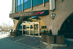 Red Arrow's downtown Calgary location offers ticketing to all of the province's major cities.