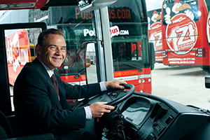 Barry Pybis, chief executive of PolskiBus.com