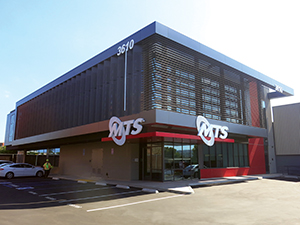 MTS' $30 million, LEED-certified bus maintenance facility in the South Bay area of San Diego, CA.