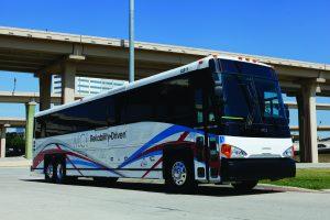 MCI Commuter Coach APTA Expo 2014