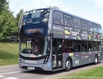 One of 14 new buses with the GKN Gyrodrive.