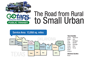 TAPS serves an area of 13,958 square miles.