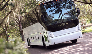 The Van Hool CX has proven a success in the North American market.