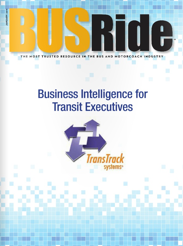 Business intelligence for transit executives