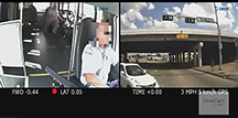 Some telematics systems include video capture with both interior and exterior views. (Courtesy: Drivecam / Lytx, Inc.)