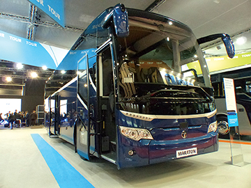 TEMSA sprang a surprise with the new Maraton high deck coach.