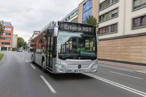 The latest NGT Citaro was launched last year with the new CNG engine.