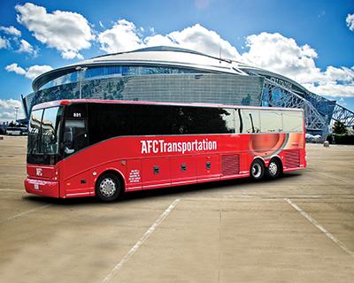 AFC Transportation's Van Hool C2045.