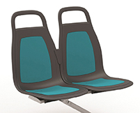 American Seating's flagship product, InSight, was conceived, engineered, tested and tooled by American Seating to meet the needs of the North American heavy-duty transit market.