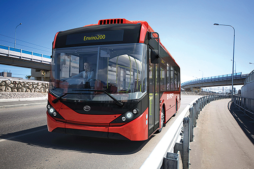 Alexander Dennis will body 51 BYD electric chassis for service in London later this year.