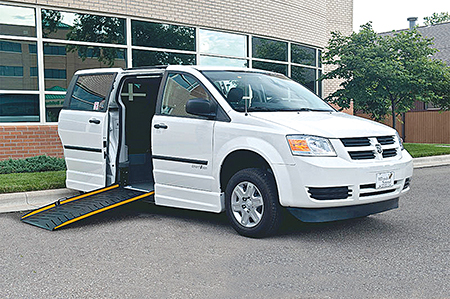 The Dodge Amerivan PT by ElDorado Mobility.