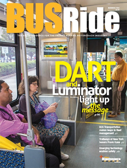 DART and Luminator light up the message