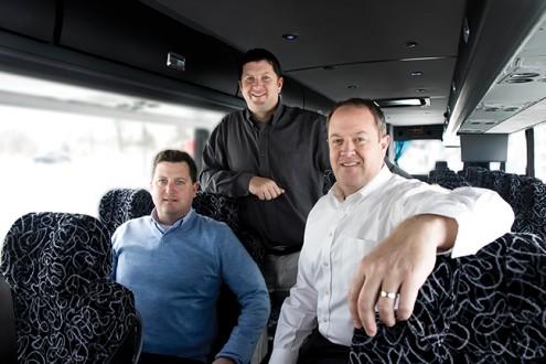 Pat, Scott and Jeff Greteman