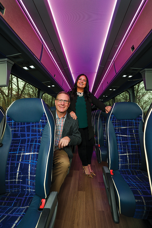 Trobec's Bus Service leads the industry's future with MCI