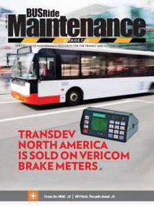 BUSRide Maintenance January/February 2017, Vol. 54, No. 1