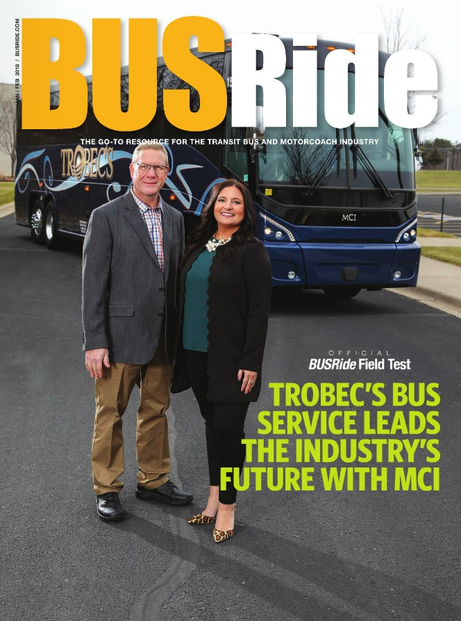 Trobec's Bus Service leads the future with MCI