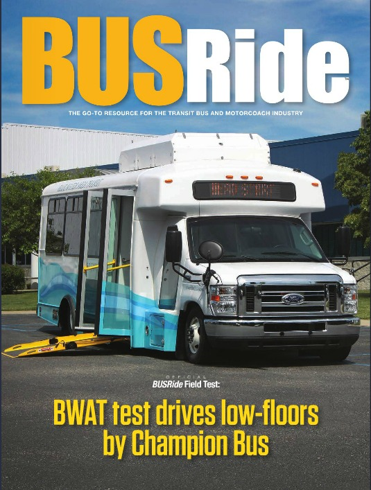 BWAT tests low-floors by Champion Bus
