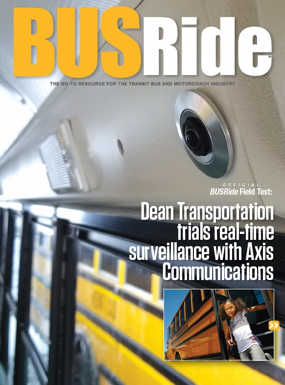 Dean Transportation trials real-time surveillance with Axis Communications
