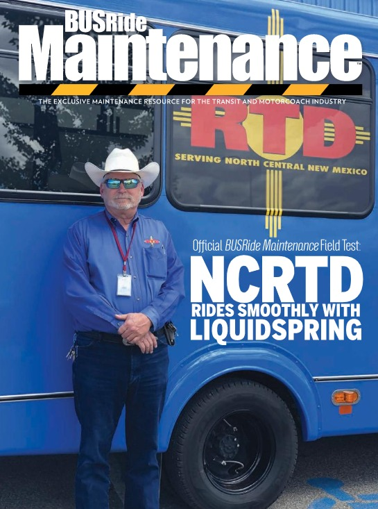 NCRTD rides smoothly with LiquidSpring