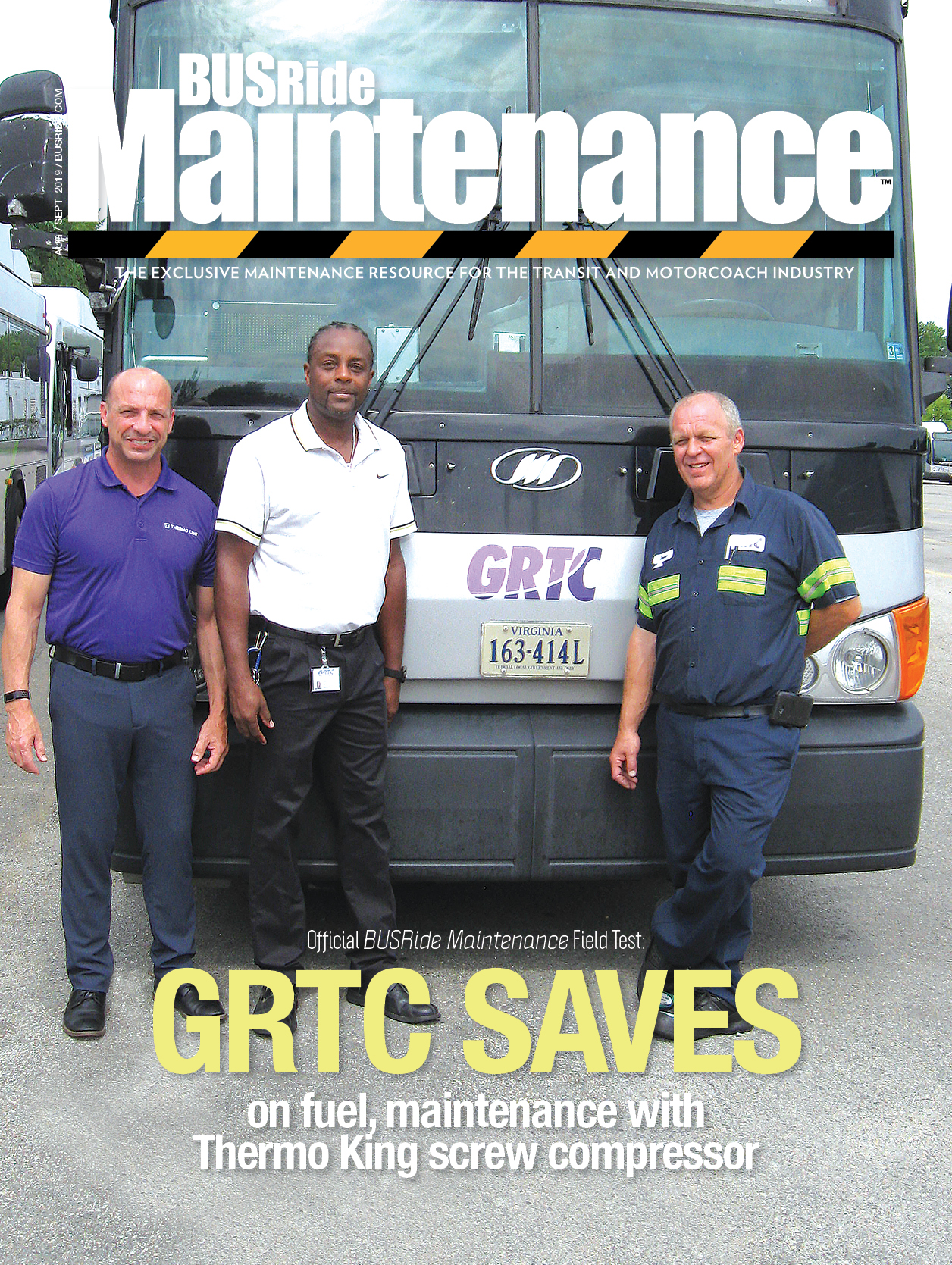 GRTC saves on fuel, maintenance with Thermo King screw compressor