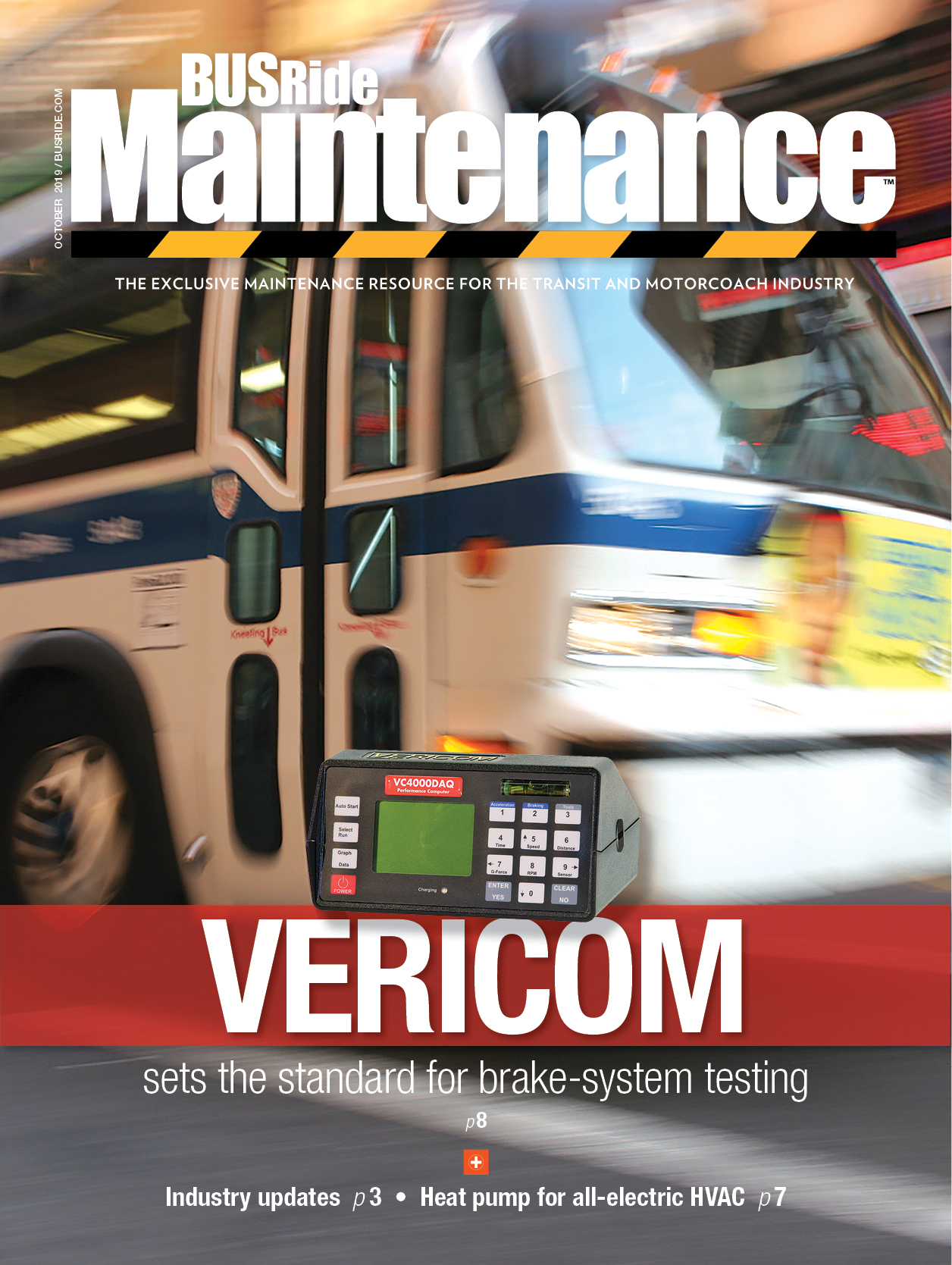Vericom sets standard for brake-system testing