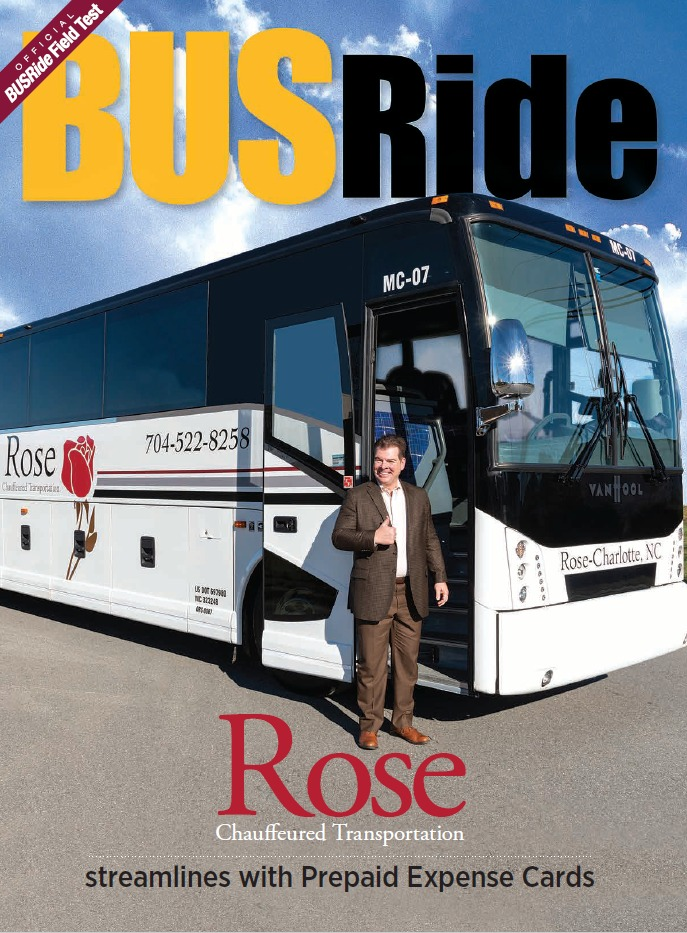 Rose Chauffeured Transportation streamlines with Prepaid Expense Cards