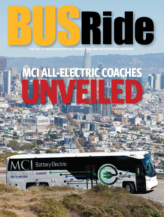 MCI All-Electric Coaches Unveiled